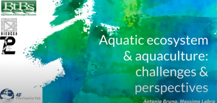 Aquatic ecosystem & aquaculture: challenges & perspectives