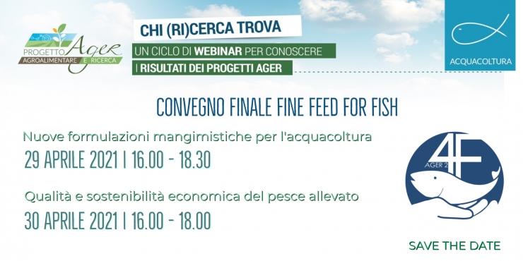 Convegno Finale Fine Feed For Fish | 29-30 Aprile 2021
